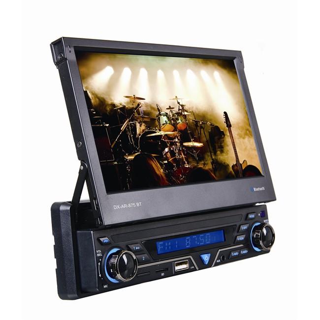 Radio samochodowe › Radio samochodowe Autoradio DX PV-875BT BT USB SD AUX  Ekran wysuwany 7