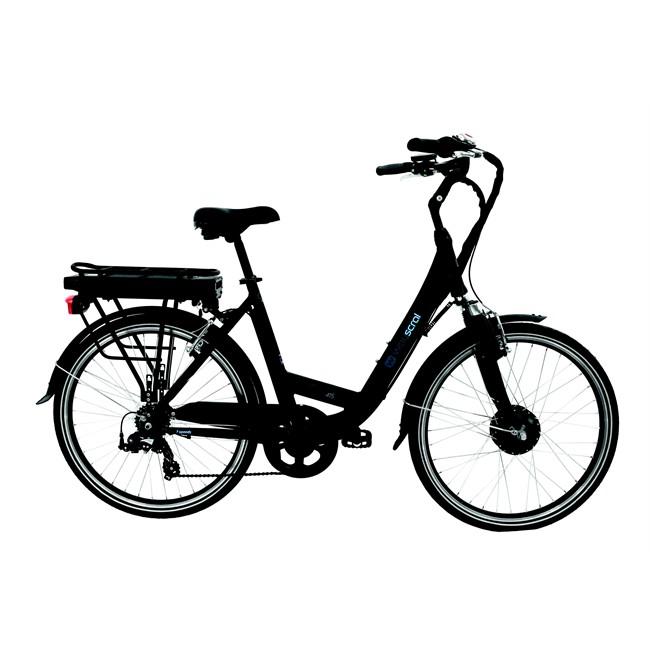 Rower Elektryczny Miejski Wayscral W415 Czarny Mat Norautopl